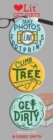 Get Dity 3 Badge Set : LoveLit Button Assortment - Book