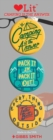 Camping is the Answer 3 Badge Set : LoveLit Button Assortment - Book