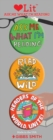 Ask Me What I'm Reading 3 Badge Set : LoveLit Button Assortment - Book