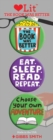 The Book was Better 3 Badge Set : LoveLit Button Assortment - Book