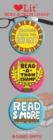 Read-a-thon 3 Badge Set : LoveLit Button Assortment - Book