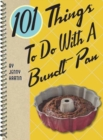 101 Things to Do with a Bundt Pan - Book