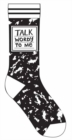 Talk Wordy to Me Socks - Book