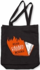 Banned Books Tote (flames) - Book