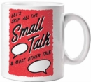 Skip the Small Talk Mug - Book