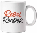 Rebel Reader Mug - Book