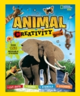 Animal Creativity Book : Cut-Outs, Games, Stencils, Stickers - Book