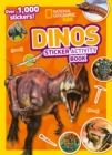 Dinos Sticker Activity Book : Over 1,000 Stickers! - Book