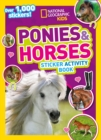 Ponies and Horses Sticker Activity Book : Over 1,000 Stickers! - Book