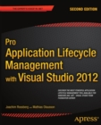 Pro Application Lifecycle Management with Visual Studio 2012 - eBook