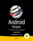 Android Recipes : A Problem-Solution Approach - eBook
