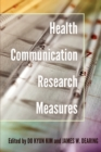 Health Communication Research Measures - Book
