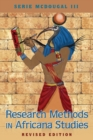 Research Methods in Africana Studies | Revised Edition - Book