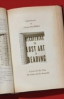 Recovering the Lost Art of Reading : A Quest for the True, the Good, and the Beautiful - Book
