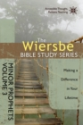 The Wiersbe Bible Study Series: Minor Prophets Vol. 3 : Making a Difference in Your Lifetime - eBook