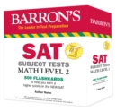SAT Subject Test Math Level 2 Flashcards - Book