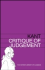 Critique of Judgement - eBook