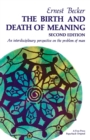 Birth and Death of Meaning - eBook