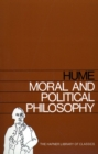 Moral and Political Philosophy - eBook
