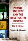 Private Security and the Investigative Process - eBook