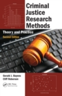 Criminal Justice Research Methods : Theory and Practice, Second Edition - eBook