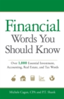Financial Words You Should Know : Over 1,000 Essential Investment, Accounting, Real Estate, and Tax Words - eBook