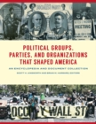 Political Groups, Parties, and Organizations that Shaped America: An Encyclopedia and Document Collection [3 volumes] - eBook