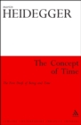 The Concept of Time : The First Draft of Being and Time - eBook
