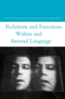 Relations and Functions within and around Language - eBook