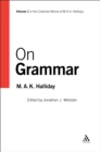 On Grammar : Volume 1 - eBook