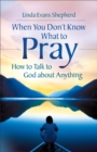 When You Don't Know What to Pray - eBook