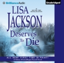 Deserves to Die - eAudiobook