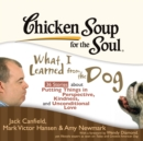 Chicken Soup for the Soul: What I Learned from the Dog - 36 Stories about Putting Things in Perspective, Kindness, and Unconditional Love - eAudiobook