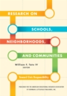 Research on Schools, Neighborhoods and Communities : Toward Civic Responsibility - eBook