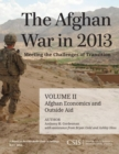 The Afghan War in 2013: Meeting the Challenges of Transition : Afghan Economics and Outside Aid - eBook