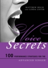 Voice Secrets : 100 Performance Strategies for the Advanced Singer - eBook