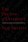 The Decline of Deference : Canadian Value Change in Cross National Perspective - eBook