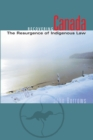Recovering Canada : The Resurgence of Indigenous Law - eBook