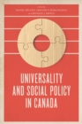 Universality and Social Policy in Canada - eBook