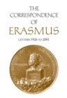 The Correspondence of Erasmus : Letters 1926-2081 - eBook