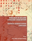 Research in Second Language Acquisition : Empirical Evidence across Languages - eBook