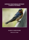 Burridge's Multilingual Dictionary of Birds of the World : Volume XXII Russian (  N N N       ) - eBook