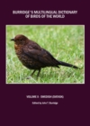 Burridge's Multilingual Dictionary of Birds of the World : Volume X Swedish (Svensk) - eBook