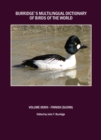 Burridge's Multilingual Dictionary of Birds of the World : Volume XXXVII Finnish (Suomi) - eBook