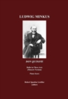 Ludwig Minkus, Don Quixote : Ballet in Three Acts, Six Scenes and a Prologue by Marius Petipa; revised by Alexander Gorsky and Rostislav Zakharov (the Moscow Version) - eBook
