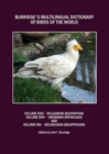 Burridge's Multilingual Dictionary of Birds of the World : Volumes XXIII Bulgarian (         ), Volume XXIV Ukranian (    i    ) and Volume XXV Belarusian (          ) - Book