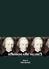 None Rethinking Kant Volume 2 - eBook