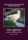 Burridge's Multilingual Dictionary of Birds of the World : Volumes XXIII Bulgarian (  NS      N N     ), Volume XXIV Ukranian (    N   iN N     ) and Volume XXV Belarusian (        N N N     N ) - eBook