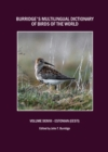 Burridge's Multilingual Dictionary of Birds of the World : Volume XXXVIII Estonian (Eesti) - eBook