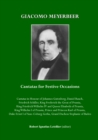 Giacomo Meyerbeer : Cantatas for Festive Occasions - eBook